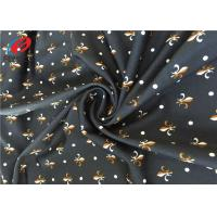 China 4 Way Stretch Digtial Printed 85 Polyester 15 Spandex Lycra Swimming Fabric For Clothing on sale