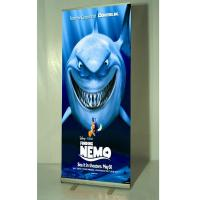 Quality Advertising Portable roll up poster with anodized aluminum for sale