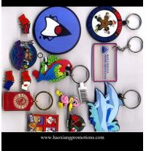 China Wholesale OEM factory supply 2d custom shaped soft pvc keychain/keyring wholesale