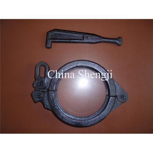 Concrete pump pipe clamp of item