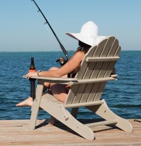 China plastic adirondack folding anglers chair wholesale