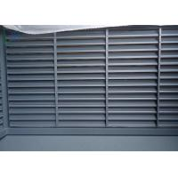 China Elegant Design Louvered Glass Windows , Residential Decorative Exterior Shutters on sale