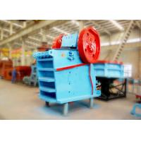 China Assembled V Type Lime Stone Jaw Crusher Machine Brake Motor With Safety Switch wholesale