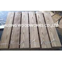 China Natural Sliced Cut Russia Ash Wood Veneer Sheet For Following Top Layer wholesale