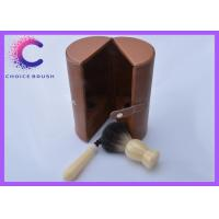 China badger shaving brushes set grooming shaving set promotional black bdger for men's wholesale