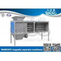 Automatic Non Ferrous Metal separator , 5 Layer Magnetic Rod Cabinet For Dried-powder