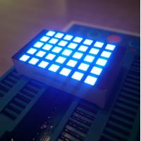 China Ultra Blue 3Mm 5X7 Dot Matrix Led Display Row Cathode  For Elevator Position Indicator wholesale