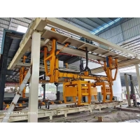 China Automatic Lightweight Concrete Block Production Plant for Building - ISO9001 380V Rotary Crane AAC Block Cutting Machine wholesale
