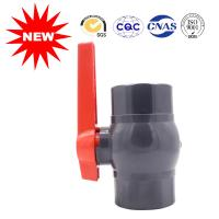 China National Standard Black Plastic Water Line Pipe Fittings Water Supply Ball Valve wholesale