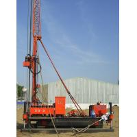 China Full Hydraulic Jet Grouting Drilling Rig vice winch and electrical control power head wholesale