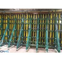 China 8.0m Wall Shuttering System , Single Sided Wall Formwork Without Tie Rod System wholesale