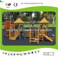 China Nice Looking Wooden Series Outdoor Playground Equipment (KQ10156A) wholesale