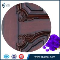 Quality leffeck european antique style double leaf entry wood doors for sale
