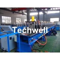China Storage Pallet Shelving and Racking Upright Roll Forming Machine for 80 / 90 / 100 / 120mm Upright Rack Profiles wholesale