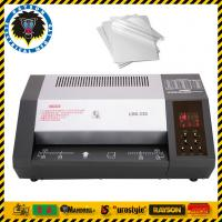 Buy cheap 6 Rollers Office Laminating Machine A3 A4 A5 A6 Size Heating Elements Laminator from wholesalers