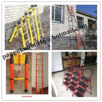 China ladder,FRP Square Tube A-Shape insulated ladders wholesale