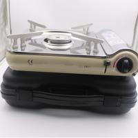 China Ultra-thin Stainless steel butane gas stove ZB-1with CE certification wholesale