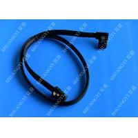 China Internal Mini SAS(SFF-8087) 36Pin Right Angle Male to Internal Mini SAS (SFF-8087) 36Pin Male Cable, 0.75 Meterr wholesale