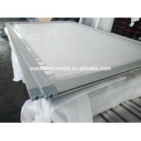 Buy cheap 2018 Hot and Customized OEM competitive price aluminum snap frame with plastic corner key, China aluminum extrusion from wholesalers