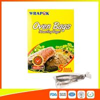 China Multi Purpose Oven Cooking Bags For Food Storage , Plastic Oven Bags For Cooking wholesale
