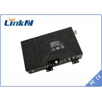 Wholesale Military / Police Wireless COFDM Video Transmitter H.264 Video Compression With Control Panel from china suppliers