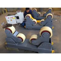 Buy cheap 5T self aligning  pipe welding rotator  /butt welding machine/pipe turning rolls with PU wheel from wholesalers