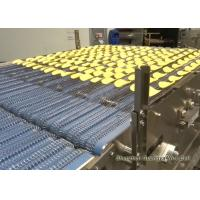 China Wear Resistant Honeycomb Stainless Steel Conveyor Belt , Metal Mesh Anti Fractures For Food wholesale