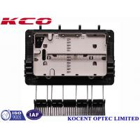 China FTTH Drop Cable Fiber Optic Splice Closure For 1x8 Splitter KCO-GJS08 3 inlet 3 outlet wholesale