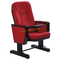 Buy cheap XJ-110C Movable Wooden Writing Tablet Auditorium Chair with Caster Wheel from wholesalers