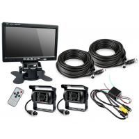 "China HD Waterproof IP67 Rugged Truck Trailer Reverse Camera With Colour 7"" LCD Monitor wholesale"