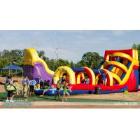 China giant inflatable water slides for adult,super splash wholesale