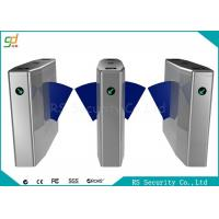 China Bi-Directional Wide Lane Flap Barrier Gate With IR Sensor And Anti-pinic wholesale