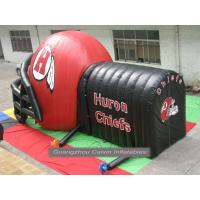 China inflatable football helmet tunnel with customized size and logo wholesale