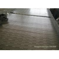 China Perforated Chain Plate Conveyor Belt With Baffle Abrasion Resistant ISO Certification wholesale