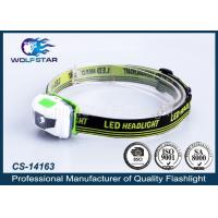 China Popular ABS Material LED Headlamp with White and Red LED for Promotion wholesale
