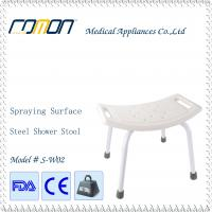 China Aluminum Lightweight Shower Stool heavy Dusty Loading wholesale