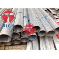 China TORICH  Hot Dip Galvanized Welded Steel Tube  Round Shape For Construction Structure wholesale