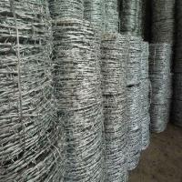 China BWG 12*14 Galvanized Barbed Wire wholesale