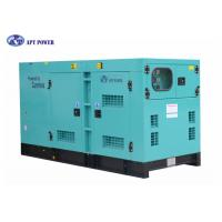 China Silent 100kw Cummins Diesel Generator , Cummins 125 Kva Generator wholesale