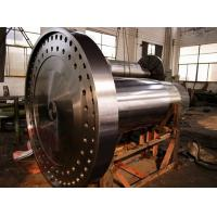 Quality Q345D Rotor locking plate wind power generator parts,Steam Turbine Rotor Forging for sale