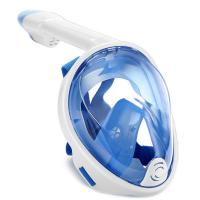 Buy cheap Panoramic Visibility Diving Full Face Underwater Mask With Nylon Strap from wholesalers