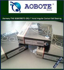 China FAG Roller Bearings , Axial Angular Contact Ball Bearing BSB035072-2RS-T wholesale