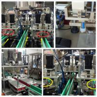 China Professional Bottle Capping Equipment Four Wheel Pinch  Digital Display on sale
