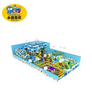 Indoor and outdoor soft playground equipment  children have fun