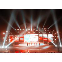 China Advertising LED Screen Stage Backdrop , Stage LED Display 640mm x 960mm wholesale