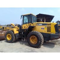 year 2010 used Komatsu WA380-6 wheel  loader  3.0 cbm capacity 7546 hours