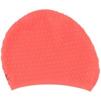 China Elasticity Silicone Swim Cap With Ear Pockets , Soft Swimming Hats 190 * 190 Mm Dimensions wholesale