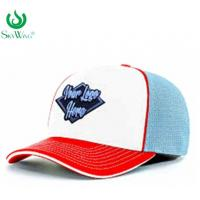 China Eco - Friendly Custom Fitted Baseball Hats 2D Flat Embroidered Logo Advertising wholesale