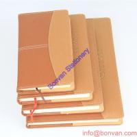 China a5 a6 custom wholesale leather journal with logo embossed,custom paper leather book wholesale