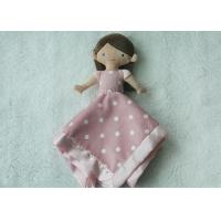 Lovely Princess Sharp Infant Security Blanket / Comfort Blanket For Baby Light Weight